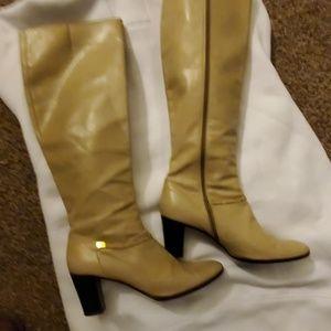 Salvatore Ferragamo over calf boots